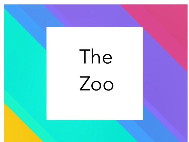 The Zoo by Khadeeja Bushsboun