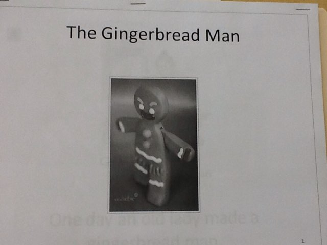 The gingerbread Man! by Sarah Severance