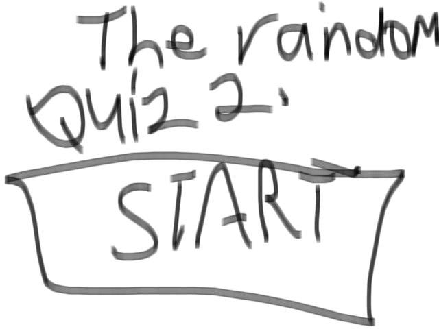 The random quiz 2 by Jonathan Oswald