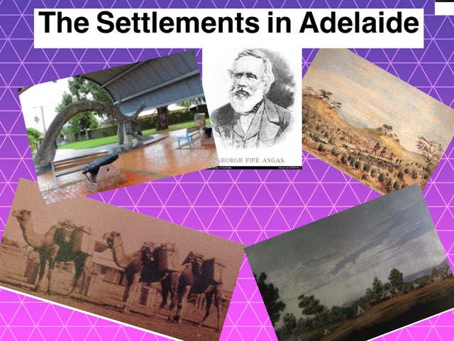 The settlements in adelaide by Leilani