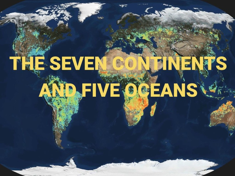 The 7 Continents and 5 Oceans by lom robles