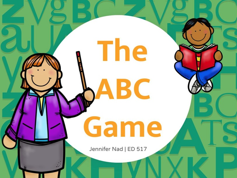 The ABC Game by Jennifer Nad