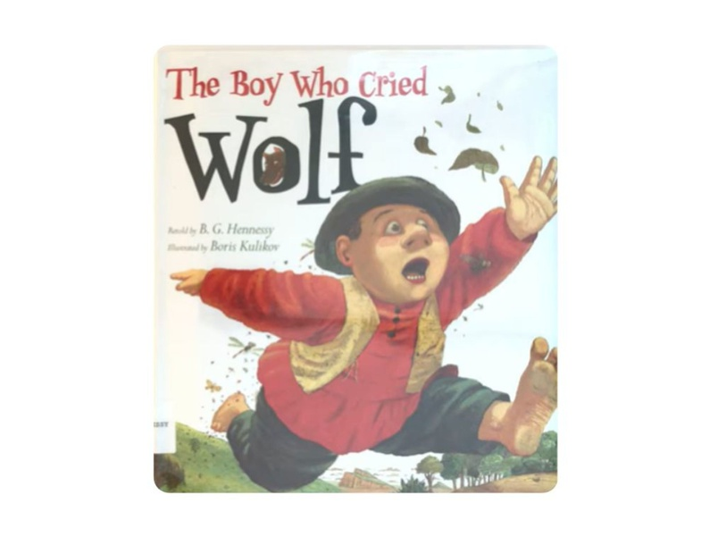 The Boy who cried Wolf by Faiz Roslee