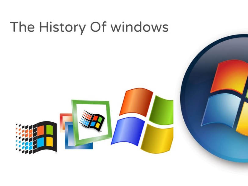 The History Of windows by Lucio Fan
