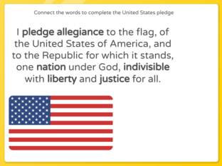 The United States Pledge by Julio Pacheco