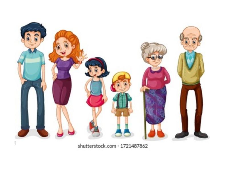 The family by Giuliana Alayo Casas