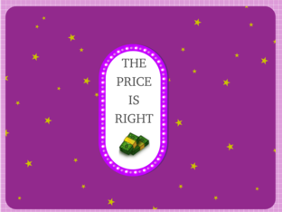 The prize is right game by