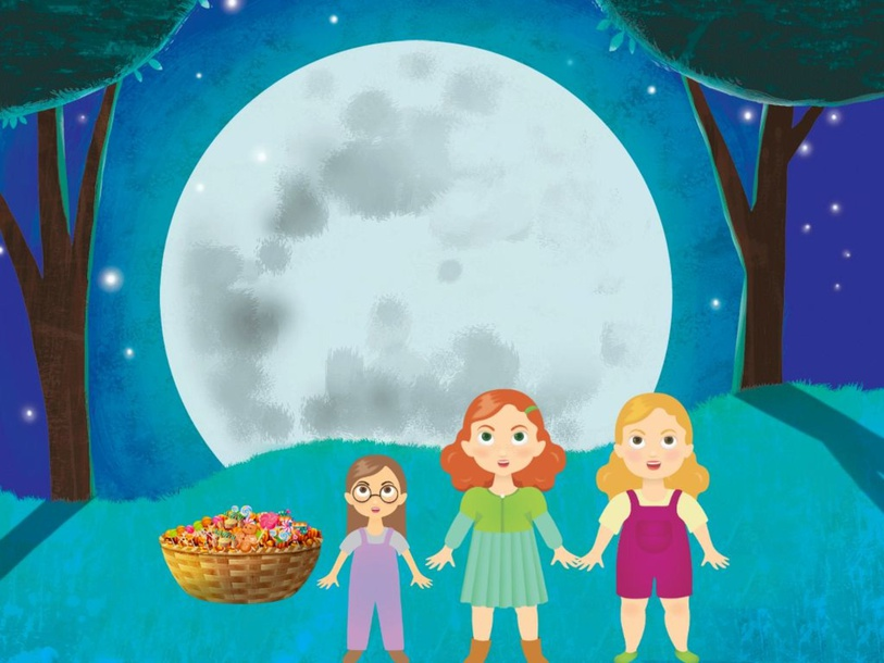 The three girls by selieemimi