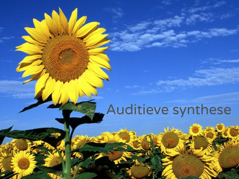 Thema lente - Auditieve synthese  by Juf Apollonia