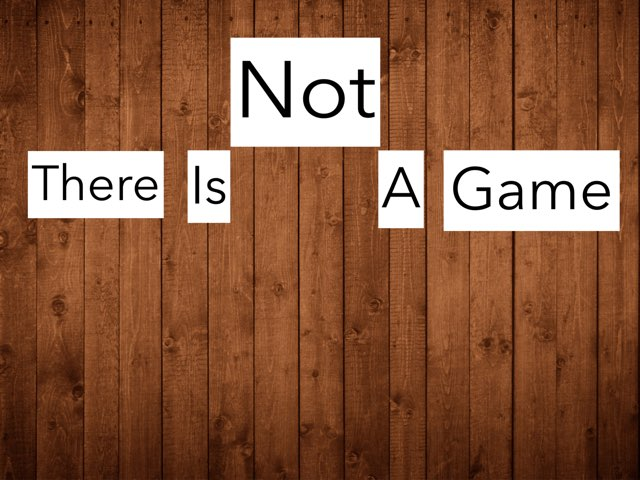 There Is Not A Game by Inge Brinckmann