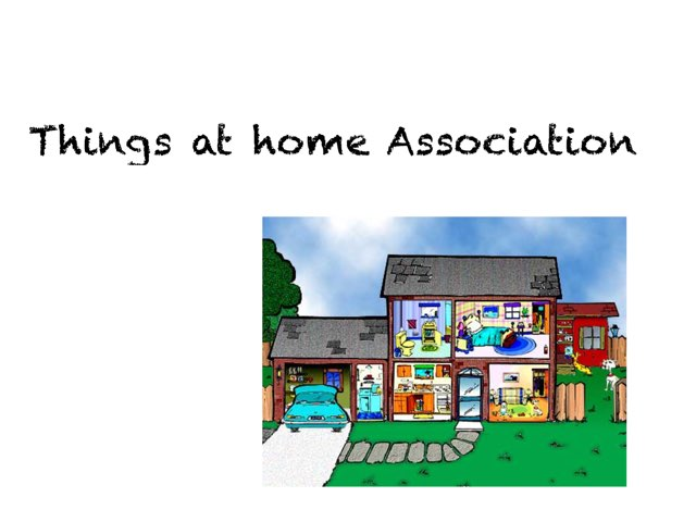 Things At Home Association by Madonna Nilsen