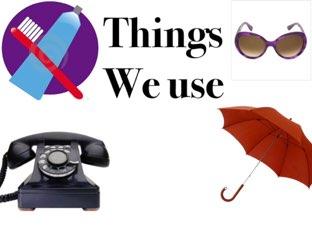 Things We Use  by Naya Barakat