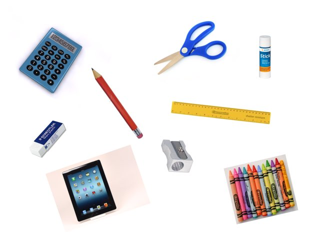 Things for School by Bente Andsbjerg