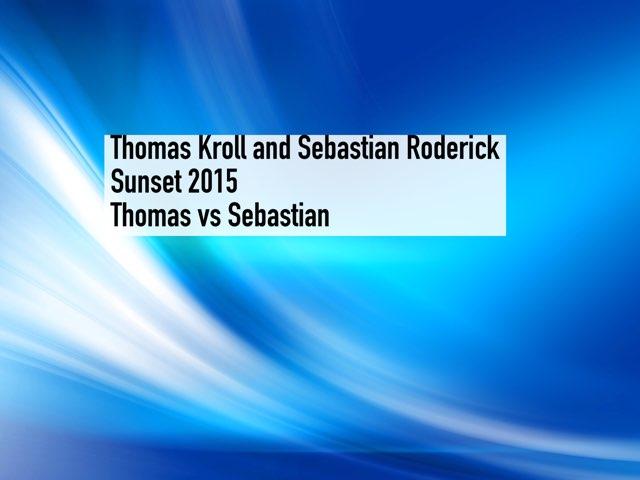 Thomas VS Sebastian by Edventure More -  Conrad Guevara