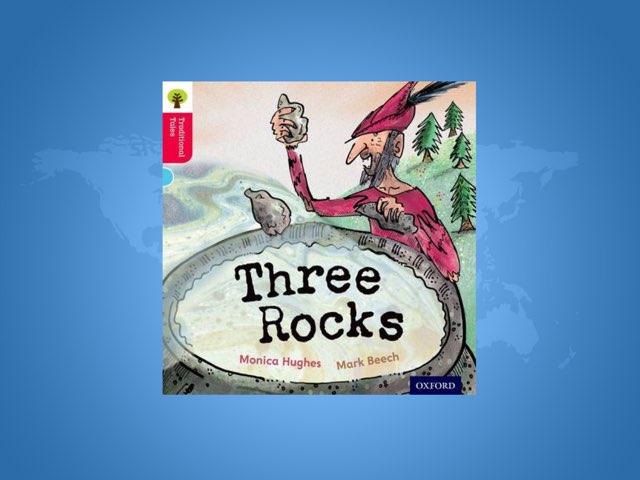 Three Rocks by Laura Scrubbing