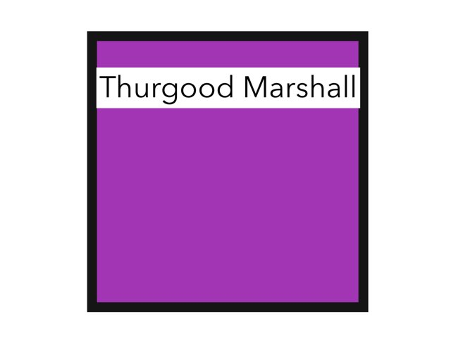 Thurgood Marshall by Cristina Chesser