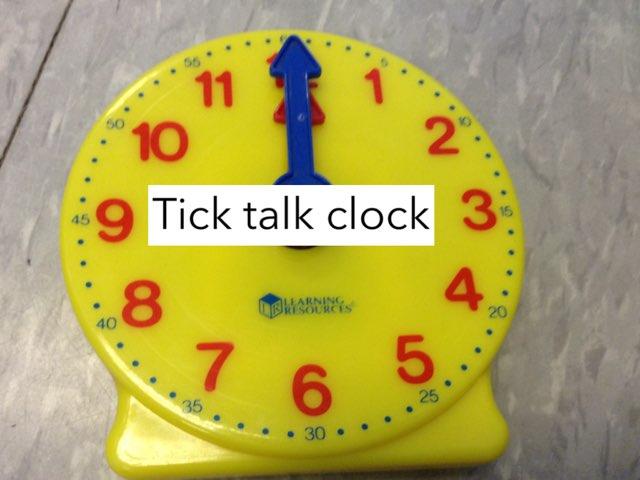 Tick talk Clocks! by Linda Motta