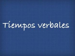 Tiempos verbales by lindapirula aguchi