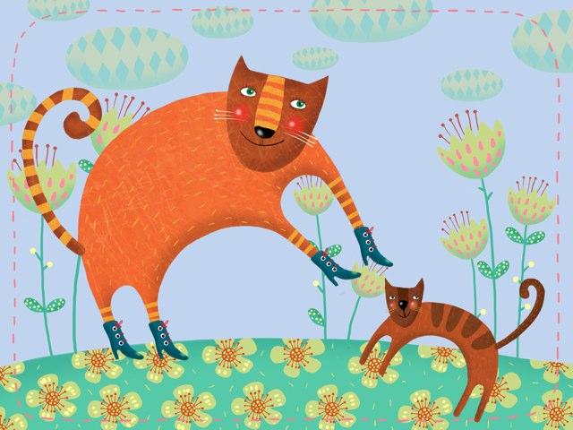 Tiere Und Ihre Kinder Mit Ihren Lauten  by Nadja Blust