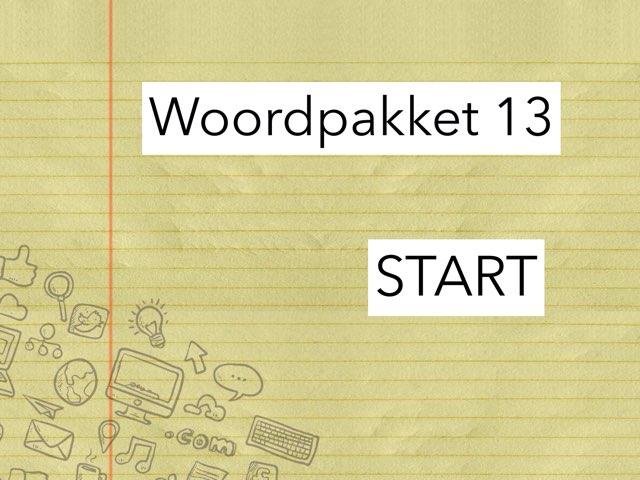 Tijd Voor Taal WP 13 by Kelly Van Aerschot