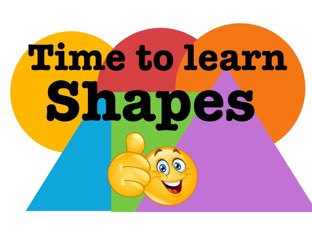 Time To Learn Shapes  by Morgan Johannson