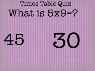 Times Table Quiz1 by Theresa Peacock