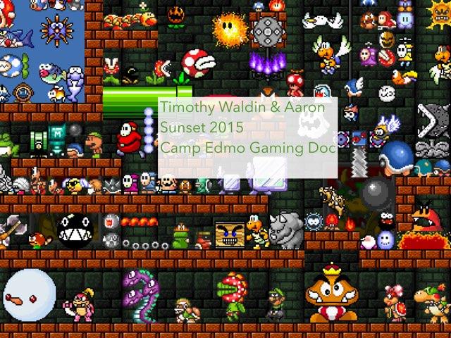 Timothy Waldin Aaron Delrio by Edventure More -  Conrad Guevara