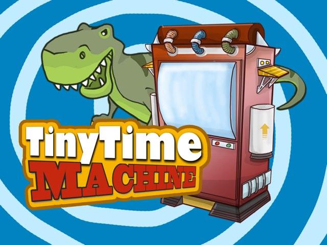 Tiny Time Machine - Dinosaurs  by Baruyo Illustrator