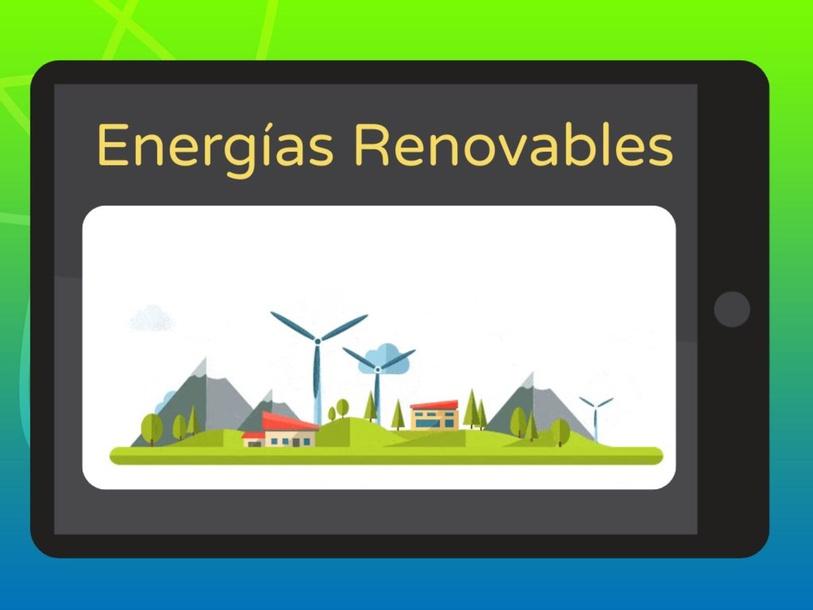 Tipos de energía renovable by Elisa María Marín Murillo
