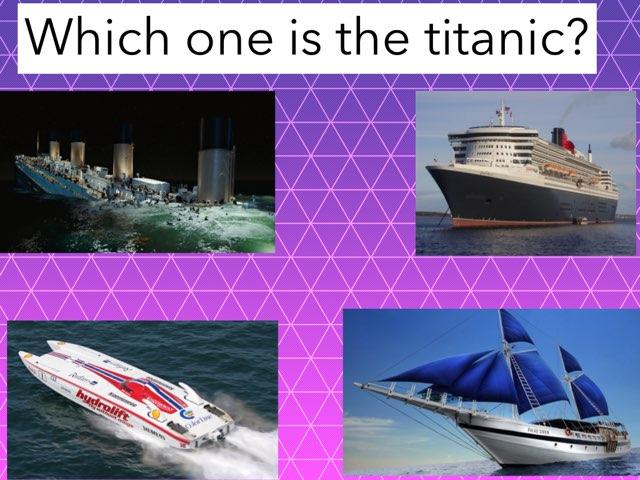 Titanic Quiz by Regina Frangos