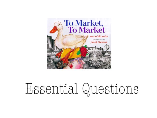 To Market, To Market by Renee Border