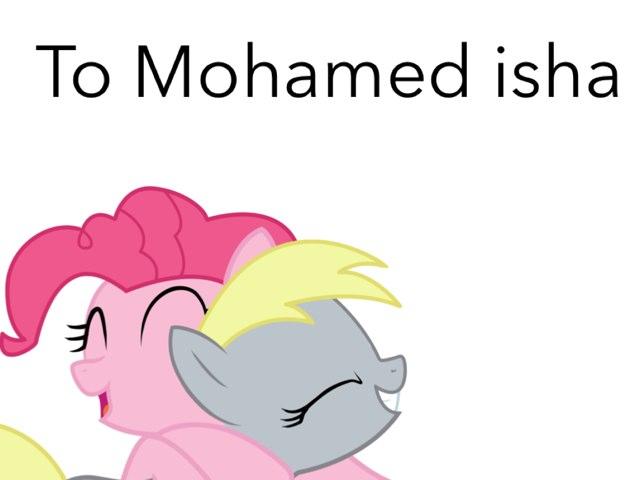 To Mohamed Isha by Fluffy Da rabbit