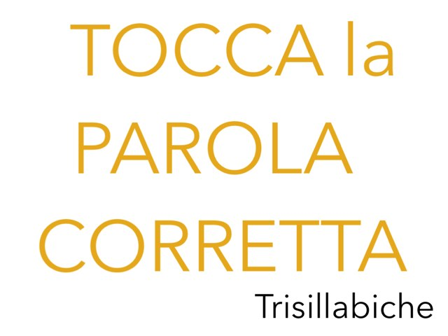 ToccaLaParolaCorrettaII by Giuseppe Lucchese