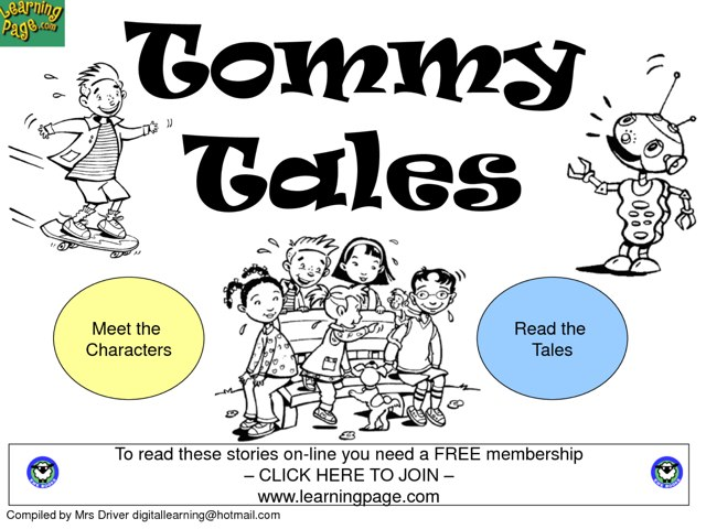 Tommy Tales  by Melody Chen