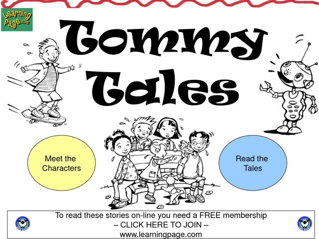 Tommy Tales by Abrianna Chen