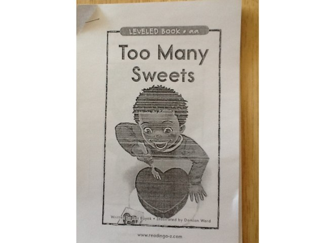 Too Many Sweets by Heather Higgins