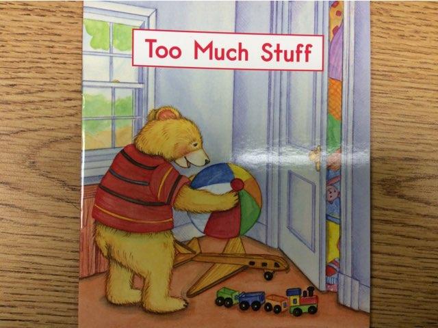 Too Much Stuff LLI Green Book 6 B by Chanel Sanchez