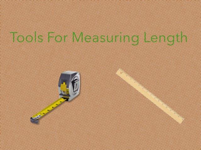 Tools for Measuring Length by Kristen VanVleet