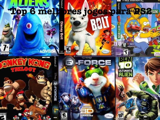 Top 6 Melhores Jogos Para PS2 by Gerson Nagel