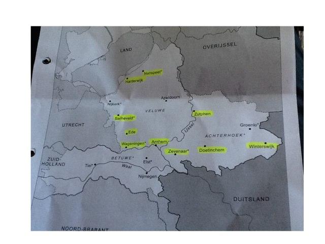 Topografie Gelderland by Annette Roordink