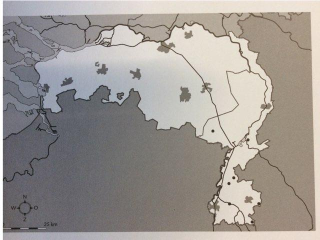 Topografie Noord-Brabant en Limburg  by Wendy Kuiters