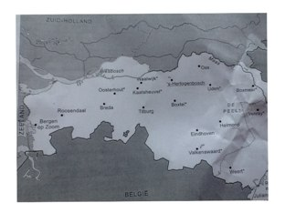 Topografie Van Noord-Brabant En Limburg by Annette Roordink