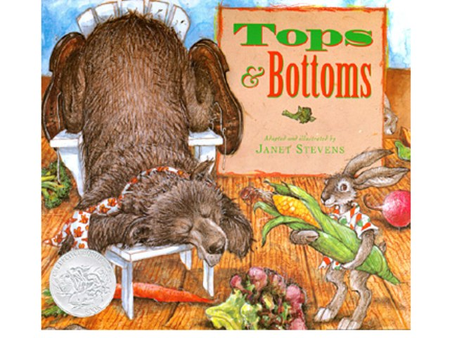 Tops & Bottoms Veggie Game by Melissa Ustik