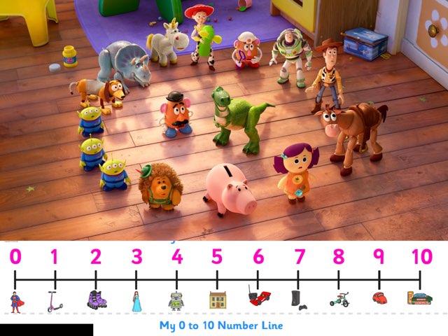 Toy Story Add 3 Single Digits by Mrs brake