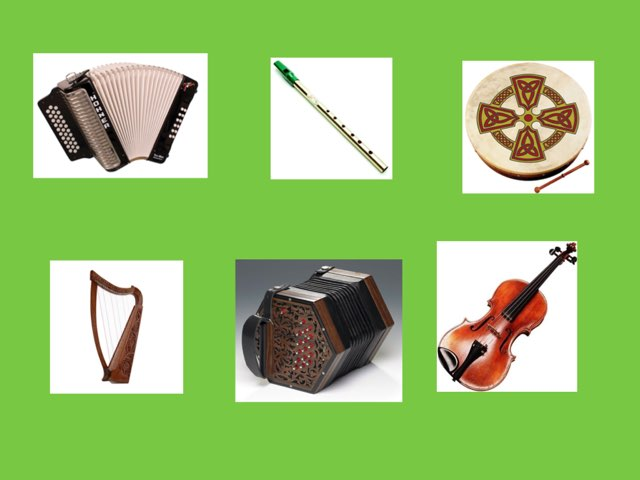 Traditional Irish Instruments And Their Sounds  by Roisin kelly