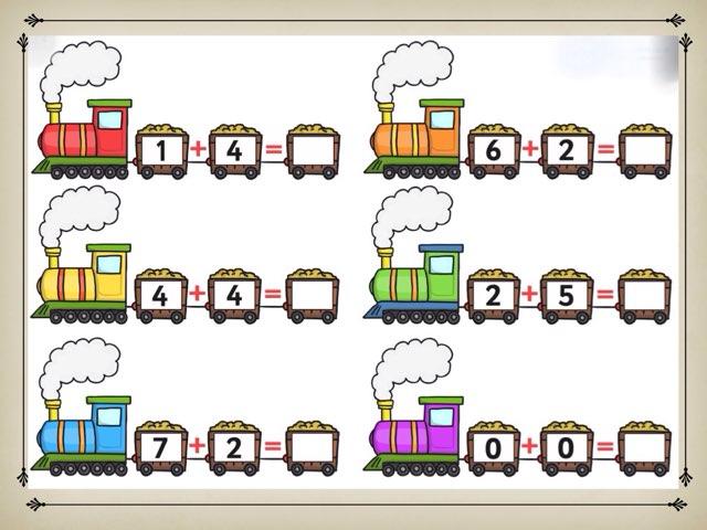 Train Addition by Deborah Fletcher