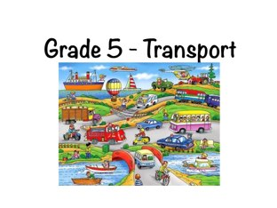 Transport Vehicles by Kathleen Duquemin