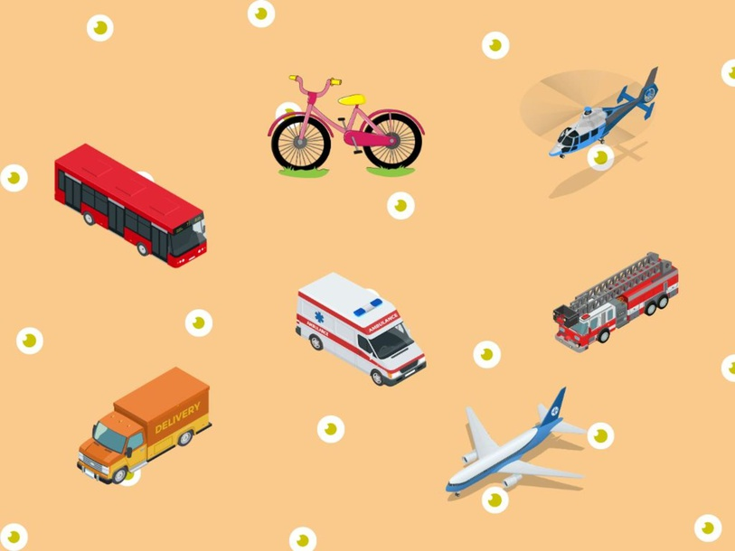 Transports and vehicles (Copy) by Marisa