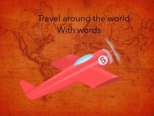 Travel Around The World With Words by Sarah Mangel-Mammucari