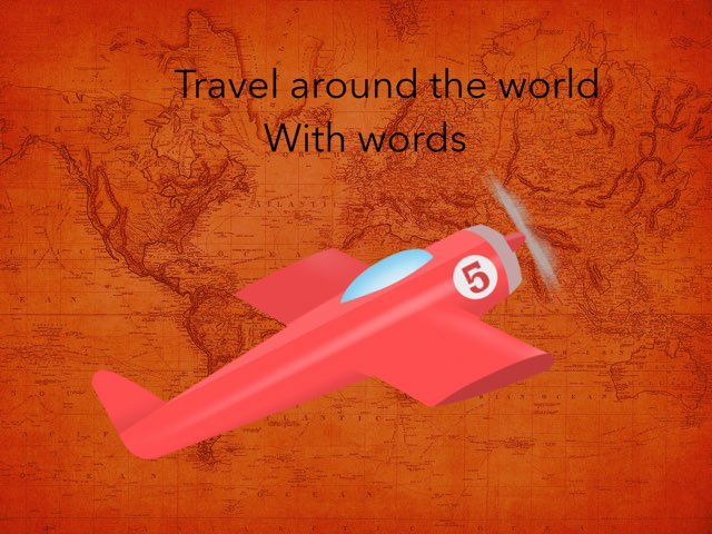 Travel Around The World With Words by Sarah Mangel-Mammucari